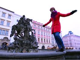 Záběr z vítězného spotu Olomouc - univerzitní město