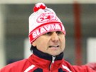 Vladim�r R�i�ka, tren�r hokejov� Slavie