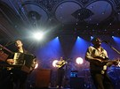 Z koncertu Mumford & Sons, Praha, Velký sál Lucerny, 6. března 2013