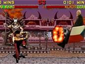 Liu Kang wins. Fatalita na Klause.