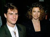 Tom Cruise a Mimi Rogersová