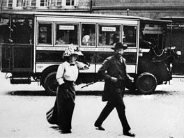 Fiat na Křižovnickém náměstí