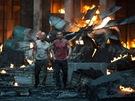 Z filmu Smrtonosná past: Opět v akci