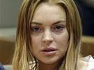 Lindsay Lohanov� p�ijala rozsudek a nastoup� do l��ebny.