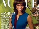 Michelle Obamová na obálce magazínu Vogue (duben 2013)