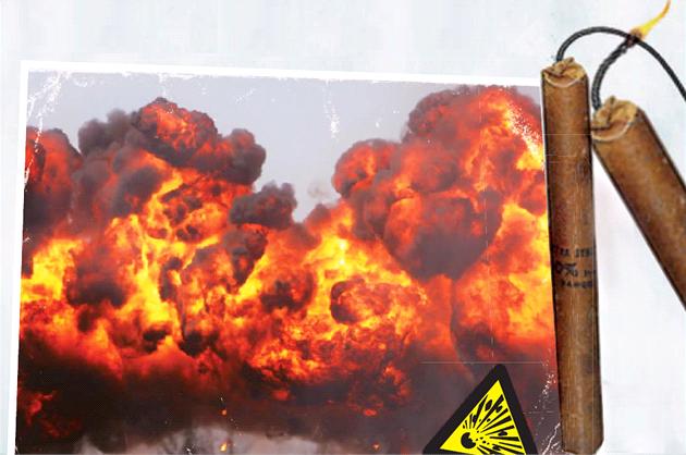 Omylem géniem: Výbuch dynamitu