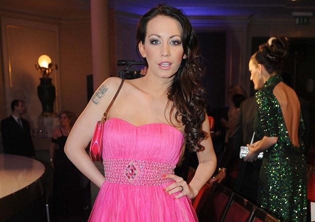 Agáta Hanychová na �eské Miss 2013
