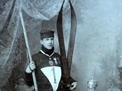 Hanč byl slavný a velmi úspěšný závodník na lyžích.