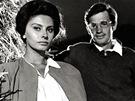 Jean-Paul Belmondo a Sophia Lorenová ve filmu Horalka (1960)