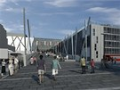 Pokud se k variantě modernizace stávajícího zchátralého zimního stadionu v Olomouci přikloní její zastupitelé, začne jeho proměna na moderní halu v podobě kostky ledu rozřezané bruslemi již v roce 2014.