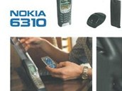Dobový propagační materiál pro model Nokia 6310