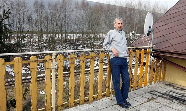Ivan Zajíc ze Stráže nad Nisou žije v blízkosti stávající liberecké průmyslové