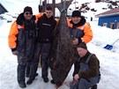 Rekordní úlovek halibuta z dubna 2013 měl délku 216 centimetrů.