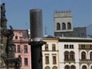 Lampy Thorn osvětlovaly Horní náměstí do poloviny loňského září, kdy je nechala radnice vyměnit. A jak se nyní ukázalo i sešrotovat.