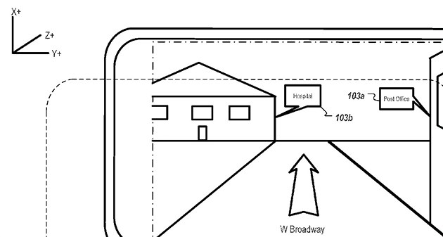 Patent Applu na reálnou navigaci