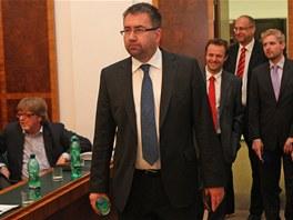 Majitel Baníku Ostrava Petr Šafarčík.