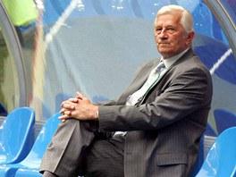 ARCHIVNÍ SNÍMEK. Karel Brückner na fotografii před utkáním mistrovství světa proti Itálii v červnu 2006.