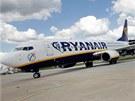 Ryanair v Brně odbavil miliontého zákazníka. Stala se jím Věra Ryšánková, která se právě vrátila z výletu do Londýna.