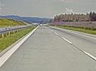 Intenzita dopravy na Vysočině začátkem osmdesátých let