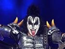 Legendární hardrocková kapela Kiss vystoupila 14.6. 2013 v pražské O2 aréně.