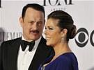Tom Hanks a Rita Wilsonová (9. června 2013)
