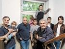 Klan Trojan�: Ivan, V�clav, Ond�ej, Anton�n, Franti�ek, Josef, Ladislav, Tade� a Maty�