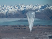 Projekt Google Loon má přinést internet na balonech