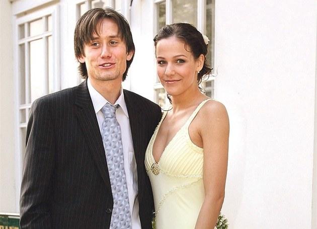 Tomáš Rosický with sweet, nice, Wife Radka Kocurova
