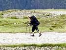Druhý ročník Sherpa Cupu, závodu ve vynášení nákladu na Sněžku z Pece pod Sněžkou.