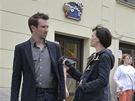 Z nat��en� filmu Kr�sno (Ond�ej Sokol a Zuzana Stavn�)