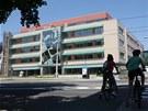 Definitivn� podoba nov� kancel��sk� budovy Namiro v Olomouci v Hynaisov� ulici. (9. �ervence 2013)