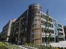 Definitivní podoba nové kancelářské budovy Namiro v Olomouci v Hynaisově ulici. (9. července 2013)