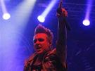 Z vystoupení kapely Papa Roach na festivalu Rock for People (3. července 2013)