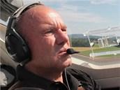 Ji�� Pru�a, bloger iDNES.cz a pilot mal�ho letadla
