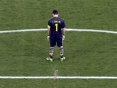 Španělský brankář Iker Casillas.