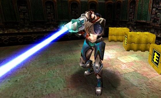 Bleskomet v Quake 3