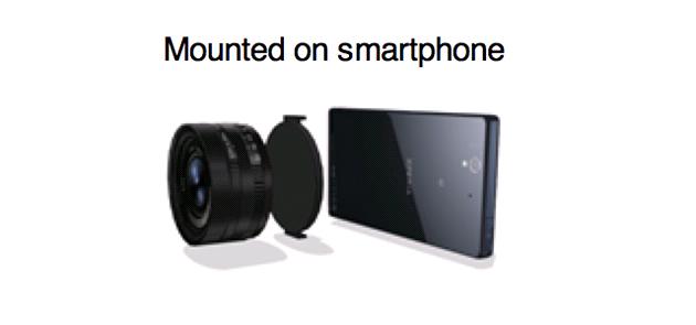 Sony údajn� p�ipravuje objektiv, který ud�lá skv�lý fotomobil z jakéhokoli