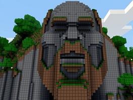 """Temple of Notch je chr�m zasv�cen� tv�rci Minecraftu, kter�m je Markus """"Notch"""" Persson."""