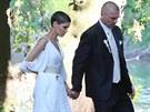 Vlaďka Erbová a Tomáš Řepka se vzali 22. července 2013.