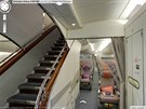 Turistická třída v letounu Airbus A380 společnosti The Emirates