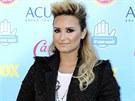 Jednadvacetiletá zpěvačka Demi Lovato působila trochu usedle.