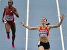 SUVERÉNKA. Zuzana Hejnová s obrovským náskokem ovládla na MS v Moskvě závod na 400 metrů překážek.