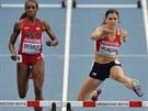 NÁBĚH NA PŘEKÁŽKU. Zuzana Hejnová na MS v Moskvě V závodě na 400 metrů překážek.