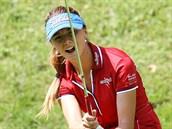 �eská golfistka Klára Spilková na turnaji  Pilsen Golf Masters 2013, akci série...
