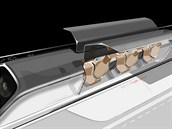 První oficiální vizualizace dopravního systému Hyperloop