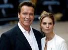 Arnold Schwarzenegger a Maria Shriverová (21. července 2003)
