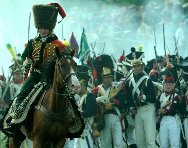 Do Napoleonovy kone�né porá�ky v bitv� u Waterloo tehdy je�t� zbývaly necelé...