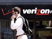 Prodejna amerického mobilního operátora Verizon.