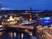 Tammerkoski ve finském Tampere