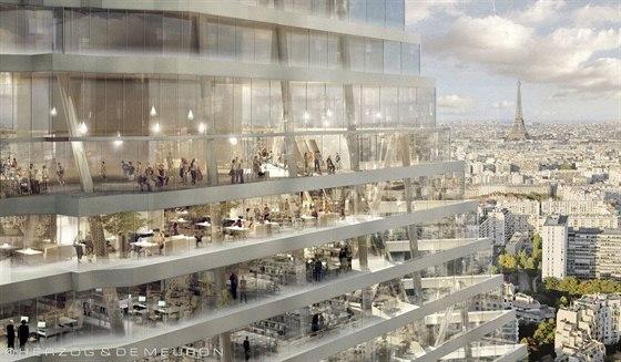 Nov� mrakodrap m� m�t v p��zemn�ch ��stech luxusn� obchody a restaurace, ve vy���ch patrech pak kancel��e, konferen�n� centrum a hotel se �ty�mi sty pokoji.